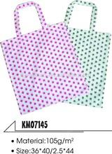 cotton bag with dot printing