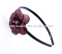 2015 wedding hair accessory nice flower headband /hair wrap