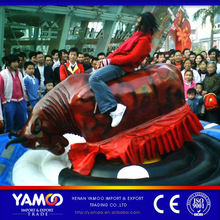 Indoor and outdoor amusement games machine/ mechnical bull fight,rodeo for children