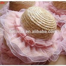 summer straw child hat