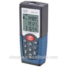 Laser Rangefinders CEM LDM-100 Digital Laser Distance Meter Volume Test 50m Measure Measuring