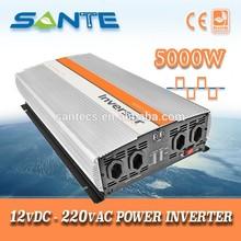 12vdc до 220 В переменного тока с универсальный вход 5000 Вт авто инвертор
