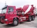 nuevo estilo de sinotruk howo 267hp de mezcla de hormigón de camiones para la venta