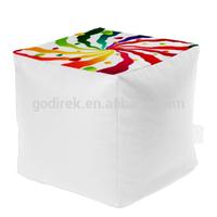 50x50cm modern square bean bag chair