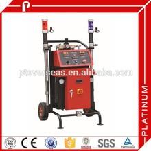 High pressure fireproof pu foam spray machine