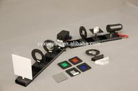 "Laboratory mobile kit on optics ""Optics"" /physics laboratory instruments /physics experiment kit"