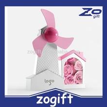ZOGIFT Holland windmill usb mini computer fan