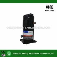 Meilleure vente 2015 compresseurs frigorifiques copeland, zr copeland scroll hermétique r22, compresseur copeland r134a