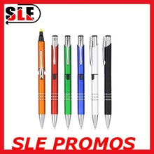 Good Quality 2 In 1 Ballpoint Pen/ Plastic Ball Pen/ Plastic Ballpoint Pen