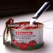 2015 Hot sale!! 70g gino tomato paste/can tomato paste/xinjiang health food company