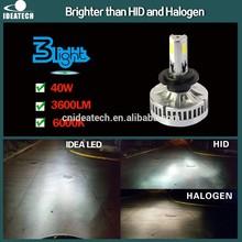 IDEA Patent 40W 3600 Lumen H7 car led headlight