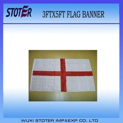 wholesale custom polyester flags, England flag