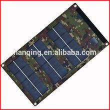 Foldable flexible monocrystalline solar charger 6W/5V for ipad