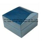 Blue advanced wooden box custom