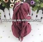 folding dog shape shopping bag