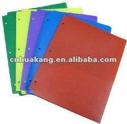 Luxury transparent plastic file folders printing
