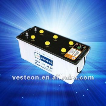 Car dry cell battery 12V180AH