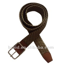 fashion woman knitted slimming belt with buckles