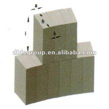 Refractory magnesia carbon brick