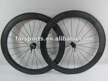 New style!!!carbon wheels 60mm tubular Bitex+basalt braking surface,1320g+/-30g