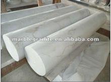 Hunan White Marble Garden Gate Pillars