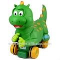 Suave 2013 hacia fuera la puerta juguetes de ejercicio/coche dinosaurios dinosaurio de vestuario con la voz