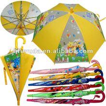 transparent PVC umbrella,lovely umbrella,cartoon umbrella