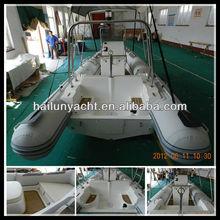 Popular steel trawler yacht for sale (HLB580)