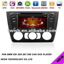 double dins 7inch iwish Android 4.0 car dvd navigation for BMW E81 E82 E87 E88