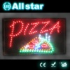 Pizza hot sale led open sign for resterant