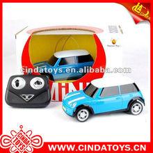 1:24 Mini cartoon radio control toy,4 channel car remote control