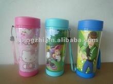 Plastic drinking cup/mug/drinkware/flask