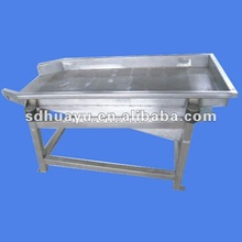 vibration dewatering machine/fruit and vegetable processing machine
