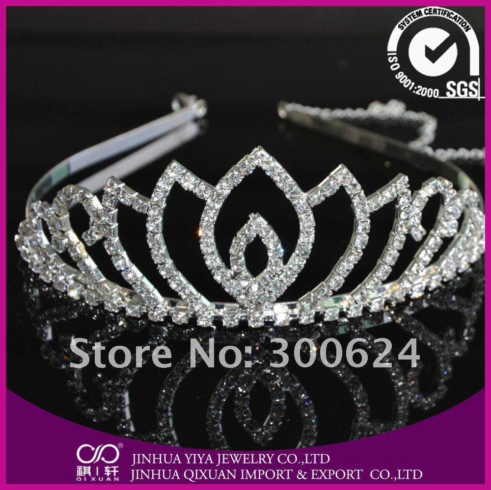 Shining Birthday Tiara Crown for Adults