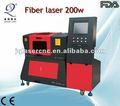 Automática do laser da fibra máquina de corte 3d