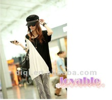 2013 summer new model t shirt in cotton for young ladies