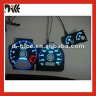 High brightness el car gauge