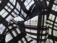 sanded twill peach skin printed fabric