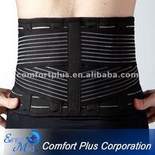 Orthopedic elastic breathable lumbar waist belt support