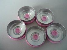 20.0mm .7.0mm,easy opening flip off aluminum-plastic caps for injection bottles