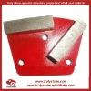 Metal bond concrete polishing pads
