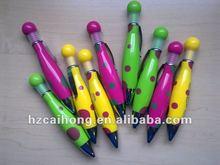 Cute fan shape Ball pen&press ball pen&Beautiful color ballpoint pen CH-6192