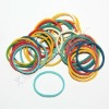 Elastic colors rubber bands for money/rubber band for packing vegatables/cheap rubber band
