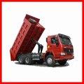 Sinotruk howo 6x4 camion à benne basculante, camion lourd commerçant. avec une bonne réputation