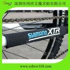 Neoprene bicycle chain cover