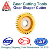 HSS disk gear shaper cutter