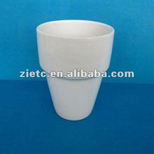 congelatore tazze lavastoviglie sicuro per la promozione con logo personalizzato imbuto in forma