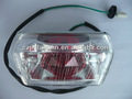 para wy125 lámpara de cola suzuki ax100 piezas de suzuki piezas gs125 rx115