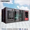 Grande capacité de conteneurs de type groupe électrogène diesel qui est utilisé pour le projet et articles tendre. articles