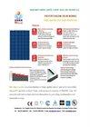 polycrystalline solar panel 110w 18V for 12V system